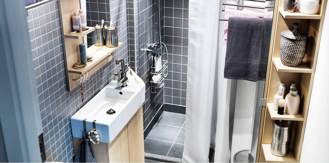 consejos para que tu bao parezca ms grande y espacioso with mampara ducha ikea