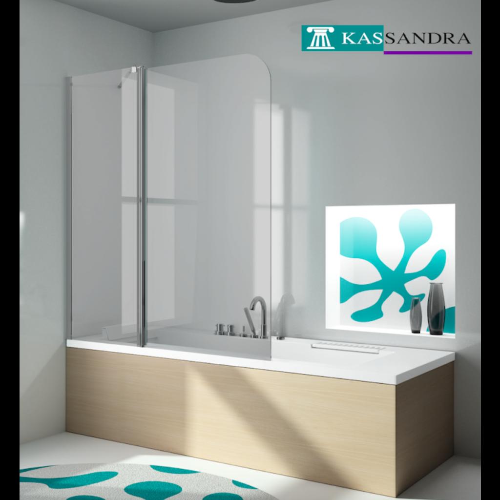 Hoja de bañera abatible de la firma Kassandra