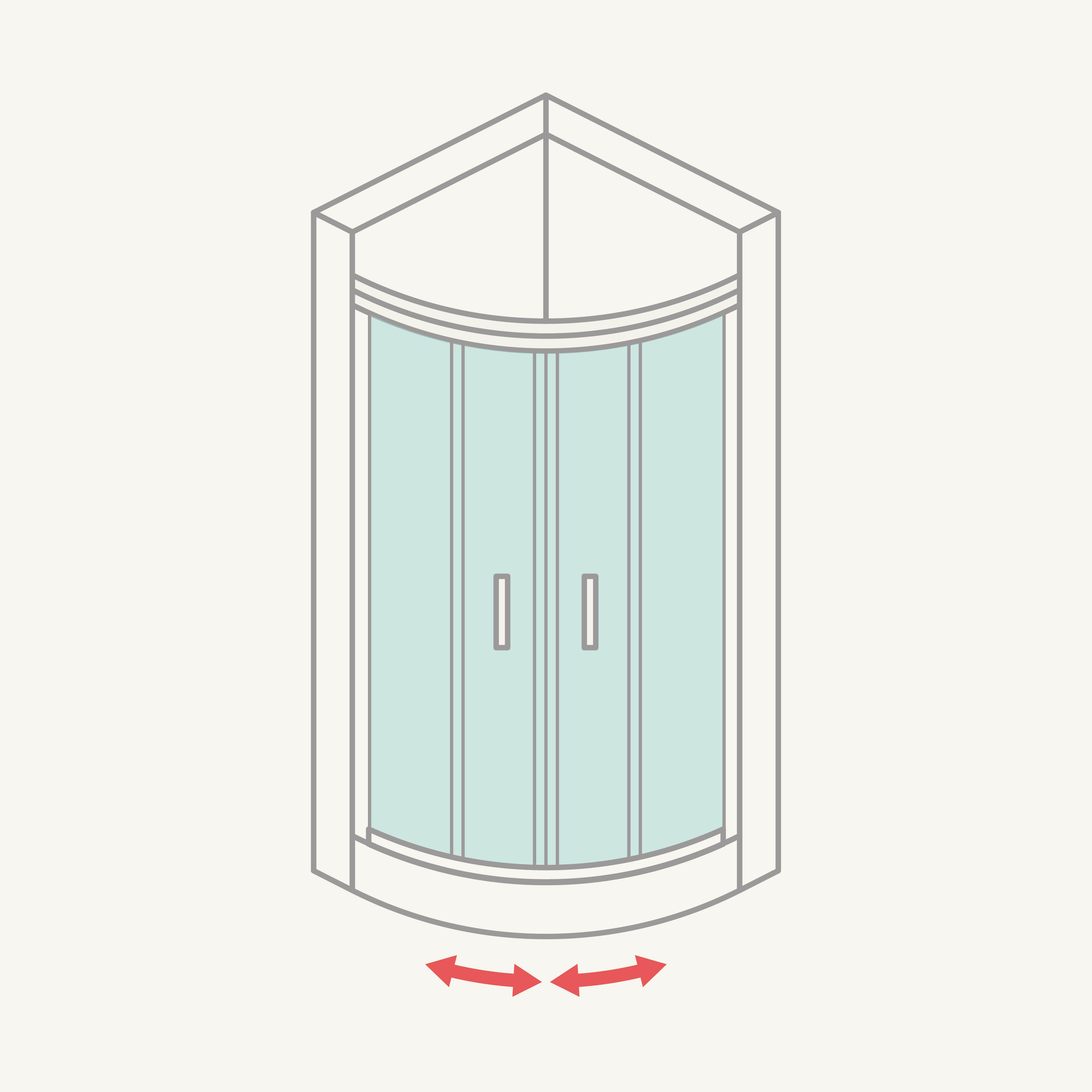 Mamparas de ducha y ba era instalamos en toda espa a - Mamparas para banos pequenos ...