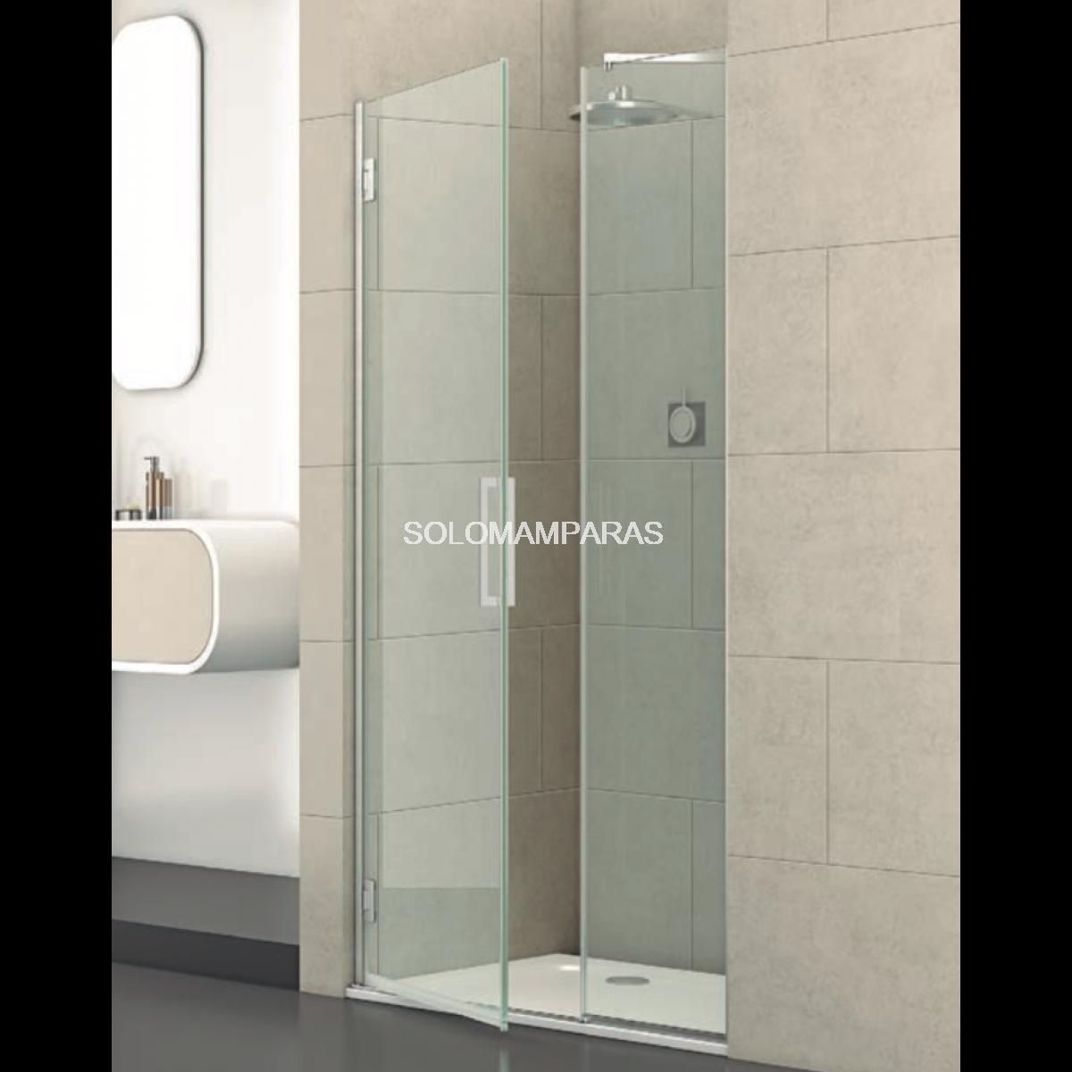 mampara de ducha barra de soporte de 25 mm para cristal de 8 mm a 12 mm brazo de apoyo de acero inoxidable para cuarto de ba/ño soporte de ducha NUZAMAS barra telesc/ópica de 300 mm a 500 mm