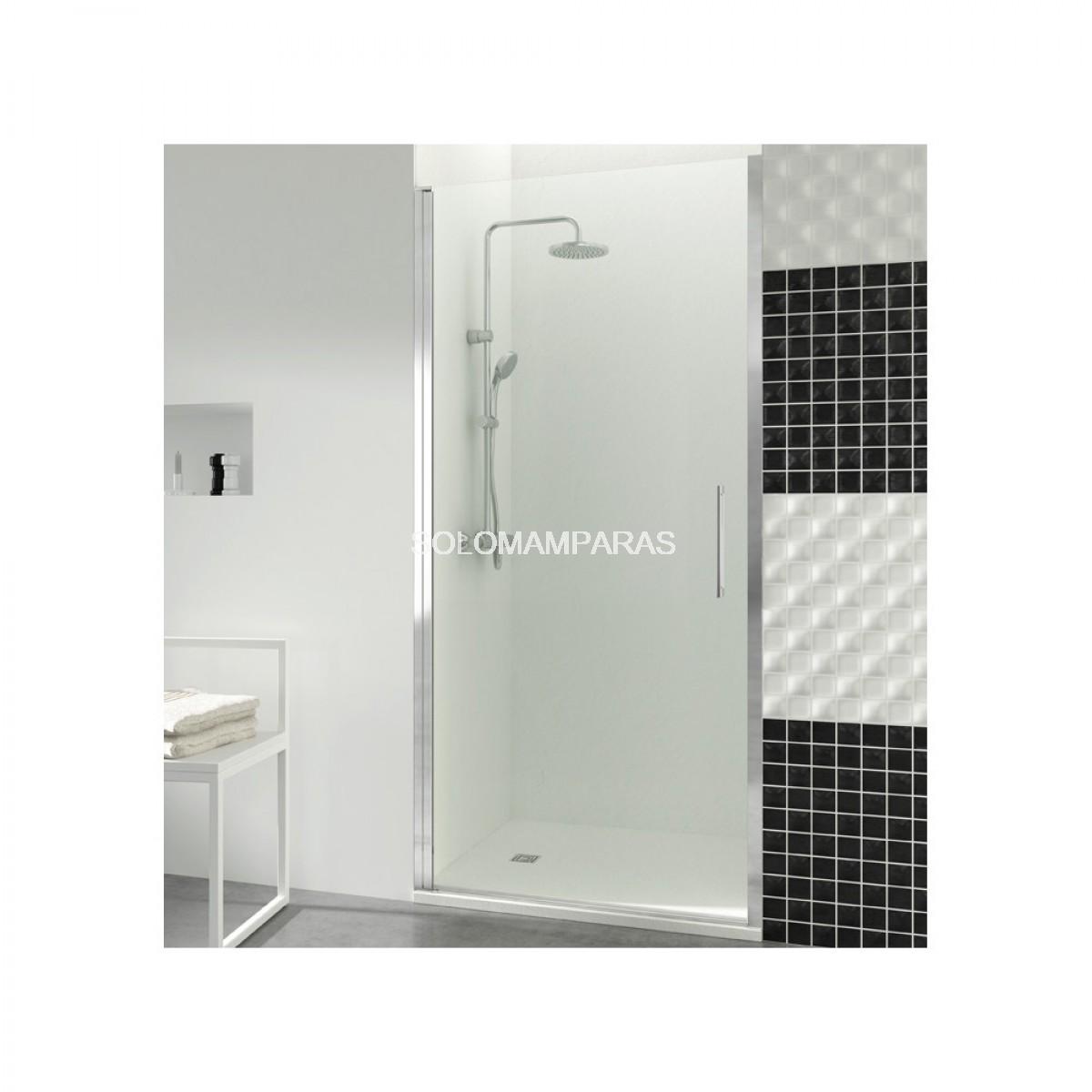 Mampara de ducha gme open 1 puerta abatible con cierre de - Mamparas de ducha puertas abatibles ...
