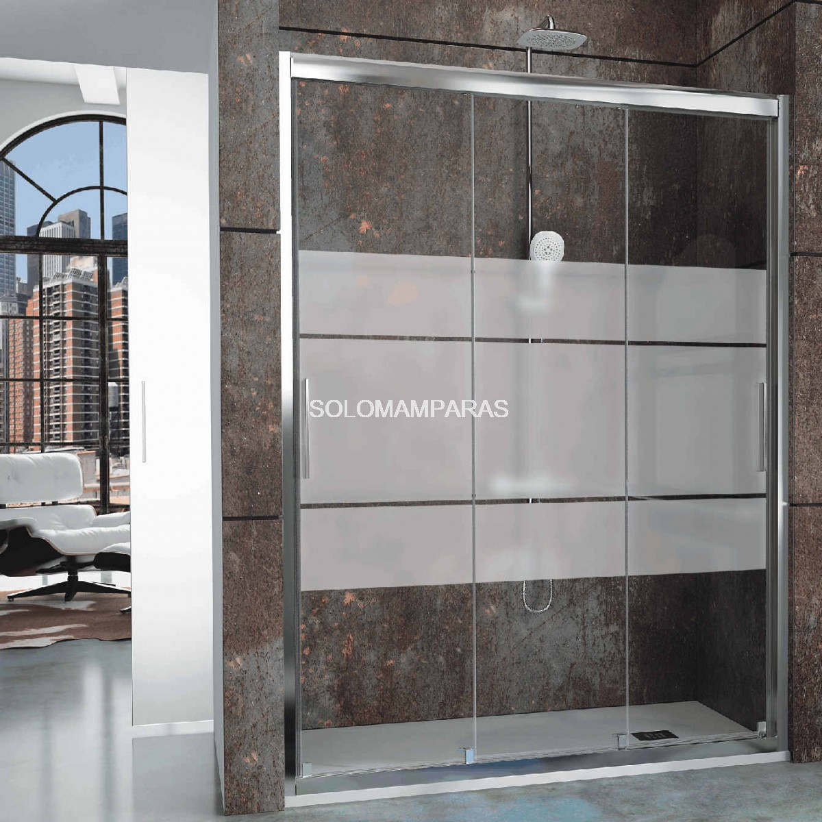 Mampara frontal de ducha city ct101 clio - Mamparas de ducha opiniones ...