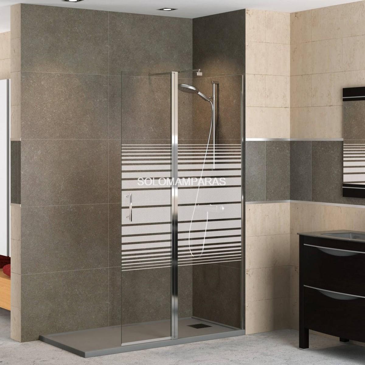 Mampara fijo de ducha milan - Precios de mamparas para ducha ...