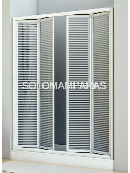 Mampara de ducha plegable Siapa -Hidroglass- (acrílico)