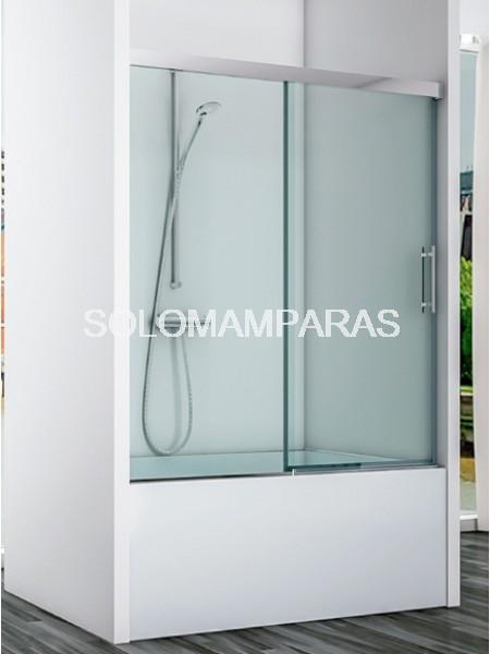 Mampara frontal de bañera Avon -Hidroglass- (1 fija + 1 corredera) 6 mm