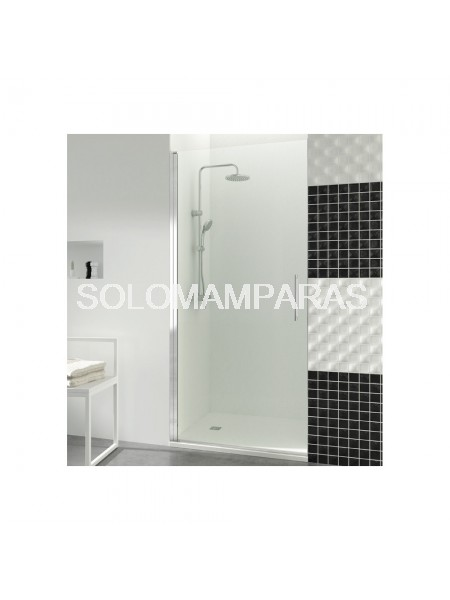 Mampara de ducha Open -GME- 1 puerta abatible con cierre imán a pared (COMBI A)