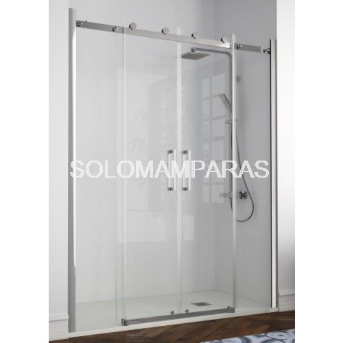 Mampara liberty li100 de kassandra de en acero inox y for Tratamiento antical mamparas