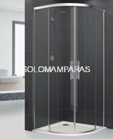 Mampara de ducha curva Elba Extra (antical)