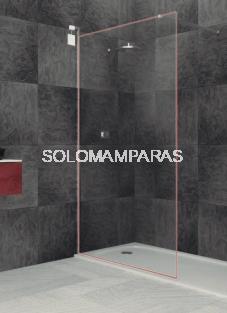 Fijo de ducha Riaza con marco de luz LED -Deyban- (antical)