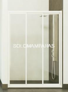 Mampara de ducha Caribe -Hidroglass- (3 hojas correderas)(Acrílico)