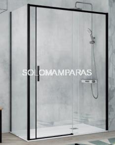 Mampara de ducha Kassandra Masela (MS102 + MS103)  Antical Easy Clean (1 fija + 1 corredera)