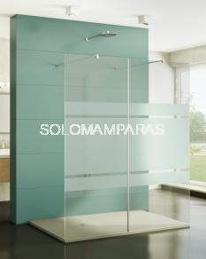 Mampara de ducha Screen XXL -GME- (2 paneles fijos) antical
