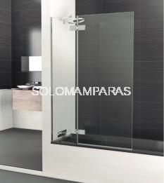 Mampara de bañera Selecta Sport -Deyban- (1 fija + 1 abatible) 8 mm (antical)