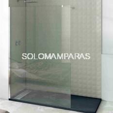Mampara de ducha fija Minimal, vidrio 8mm