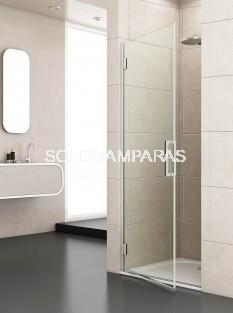 Mampara de ducha Junior -Deyban- (1 abatible) 8 mm (antical y acero)