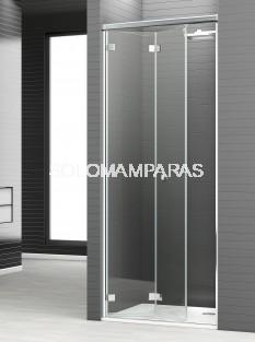 Mampara de ducha plegable Reus 2P -Deyban- (antical)