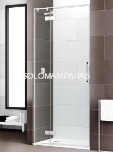 Mampara de ducha Selecta articulada -Deyban- (fijo + 1 abatible) 8 mm (antical)