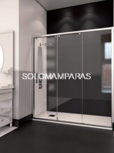 Mampara de ducha ST Delhi - Doccia- 1 fija + 2 correderas