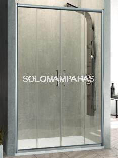 Frontal de ducha Mampara Bella de Kassandra, 2 fijas + 2 correderas (BL100)