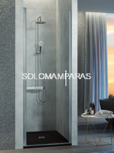 Mampara de ducha Kassandra Nardi (NA500) Transparente (Antical Easy Clean) (1 abatible)