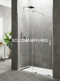 Mampara de ducha Kenna -GME- (Antical),  (1fija + 1corredera) 8mm