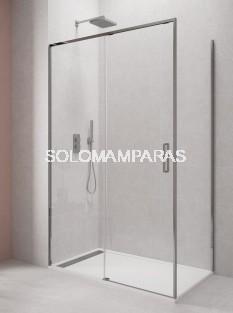 MAMPARA DE DUCHA -GME- TWENTY  (1FIJA + 1CORREDERA + LATERAL FIJO) TRANSPARENTE 6MM