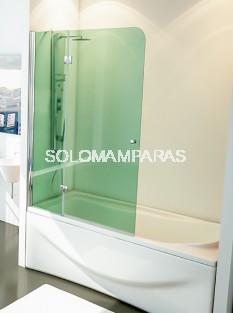 Mampara de bañera Tíbet - Hidroglass- 1 fijo + 1 abatible 6 mm