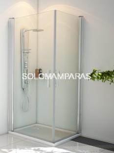Angular de ducha Indo (2 hojas abatibles)