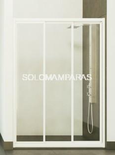 Mampara de ducha Caribe -Hidroglass- (3 hojas correderas)(Vidrio)