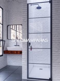 Mampara de ducha Cixi (Doccia Black Collection) 1 abatible