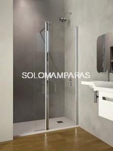 Mampara de ducha ST Chicago -Doccia- 1 fijo + abatible de 115cm (fijo 85 cm - abatible 20cm)