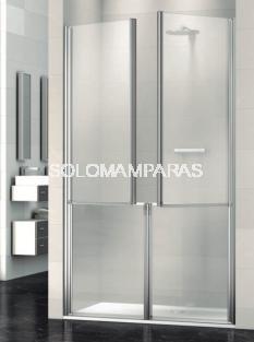 Mampara de ducha Máxima -Deyban- (4 puertas abatibles) antical