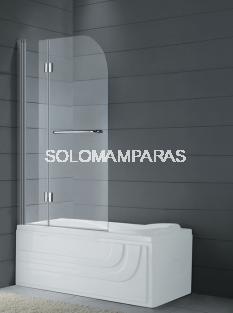 Panel de bañera Glass -GME- 2 hojas plegables