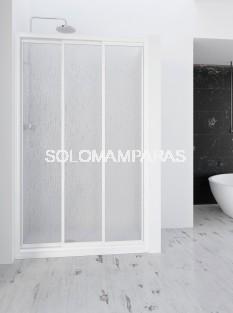 Mampara de ducha Demi - PROFILTEK - 3 hojas correderas en acrílico