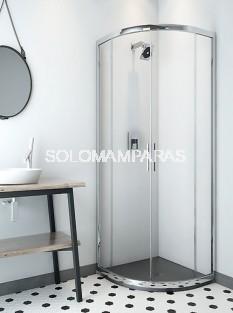 Mampara de ducha ST Sao Paulo - Doccia -  semicircular vidrio 6 mm