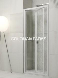Mampara de ducha plegable Yaguas -Hidroglass- (Acrílico)