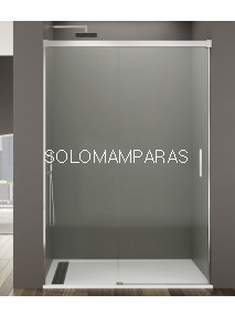 Mampara de ducha -GME- Basic (Antical),  (1fija + 1corredera) transparente