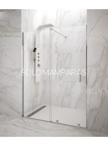 Mampara de ducha Vitro -GME- (1 fijo + 1 corredera) 6 mm (antical)