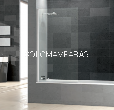 Mampara de bañera Prisma Sport -Deyban- (1 hoja abatible) 6 mm