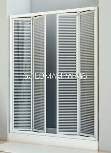 Mampara de ducha plegable Siapa -Hidroglass- (vidrio)