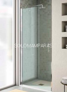 Frontal de ducha Milán (1 puerta abatible + 1 lateral fijo)
