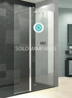 Mampara de ducha Perú Sport -Deyban- (1 fijo + 1 abatible)