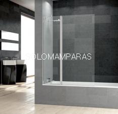 Mampara de bañera Prisma Sport+F -Deyban- (1 fijo + 1 abatible) 6 mm