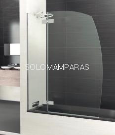 Mampara de bañera Selecta R3 -Deyban- 8 mm (fijo + abatible) antical