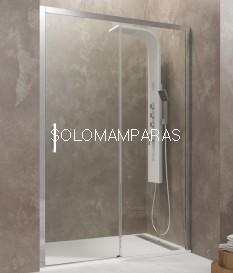 Mampara de ducha - GME- Aktual (Antical).  (1 fija + 1 corredera)