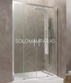 Mampara de ducha - GME - Aktual Spazio (Antical),  (2 fijas + 2 correderas)