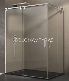 Mampara de ducha - GME- Futura (Antical), (Angular 2 fijas + 2 correderas)