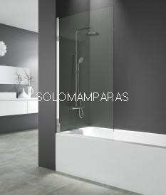 Hoja de bañera -GME- Open 1-Transparente. Hoja de bañera abatible de 85cms