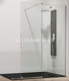Mampara de ducha Vetrum Free -GME- (1 fija + 1 corredera)