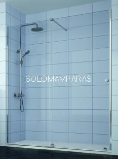 Mampara de ducha Volare -Kassandra- (VO102), 1 fija + 1 corredera (antical Easy Clean)